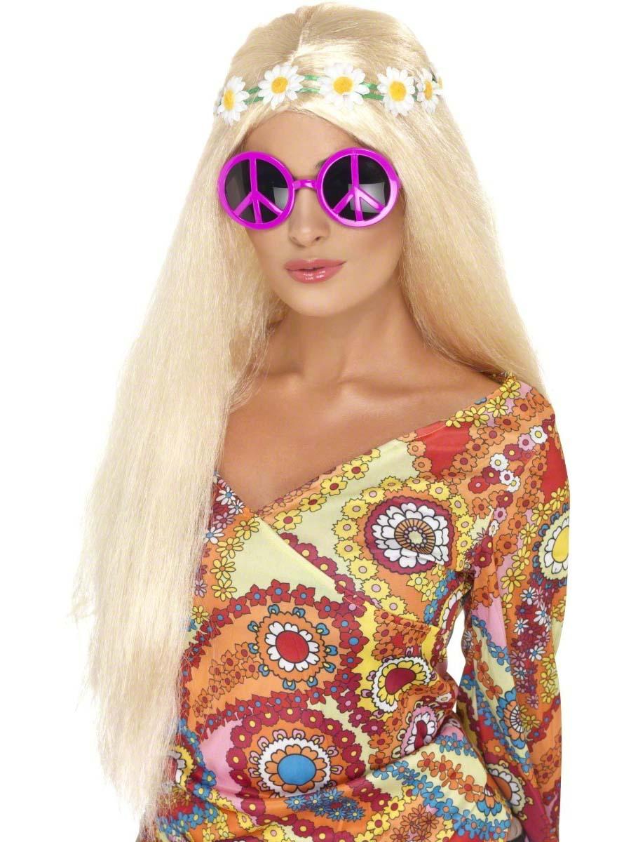 lunettes de soleil signe de paix accessoires hippie d guisement hippie 31 10 2018. Black Bedroom Furniture Sets. Home Design Ideas