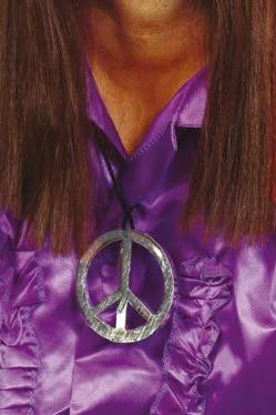 Accessoires Hippie Médaillon du signe de la paix