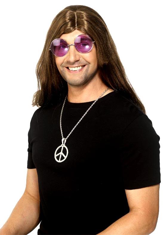 Accessoires Hippie Diamante Peace Sign médaillon argent