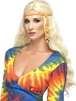 60 s hippie perlée bandeau Accessoires Hippie