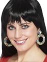 Accessoires Hippie Clip sur les boucles d'oreilles Design 60 ' s