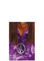 Médaillon du signe de la paix Accessoires Hippie