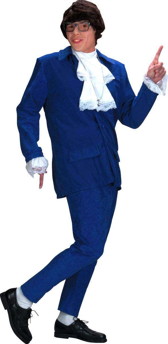 Déguisement Austin Powers 60 ' s Austin Powers Costume