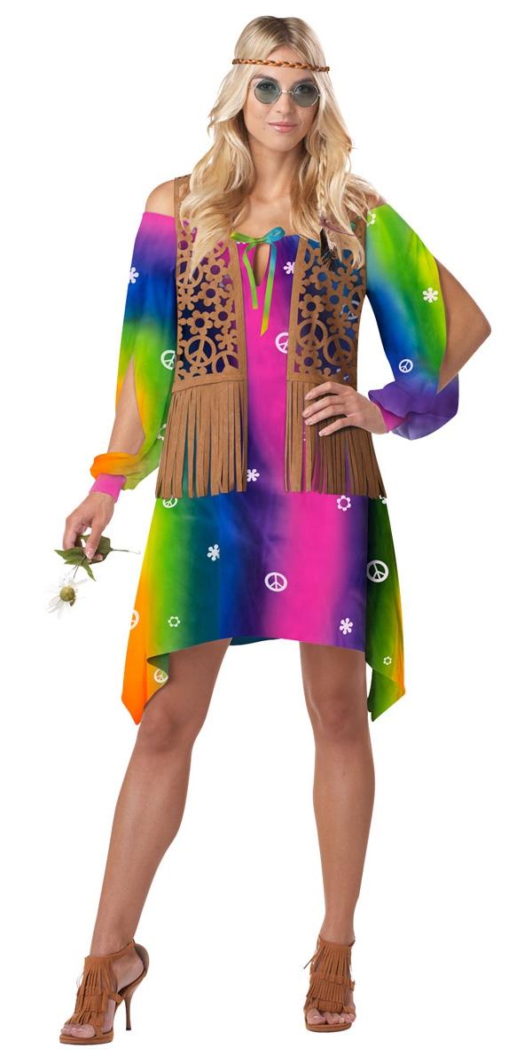Déguisement Hippie Femme Costume de hippie Chick