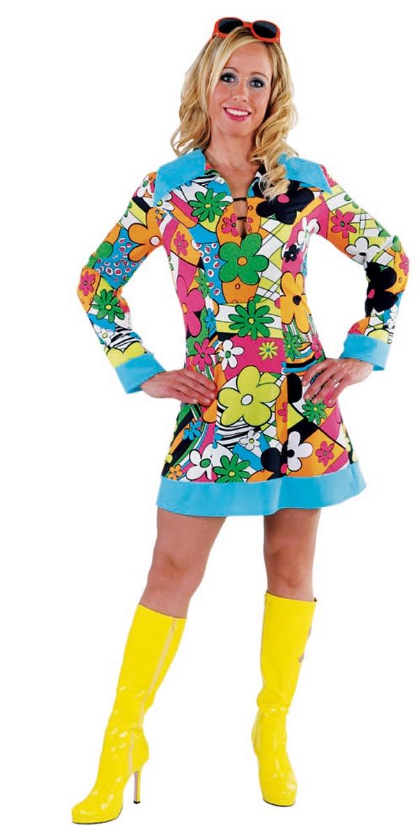 Déguisement Hippie Femme Hippie robe de dames 60 ' s
