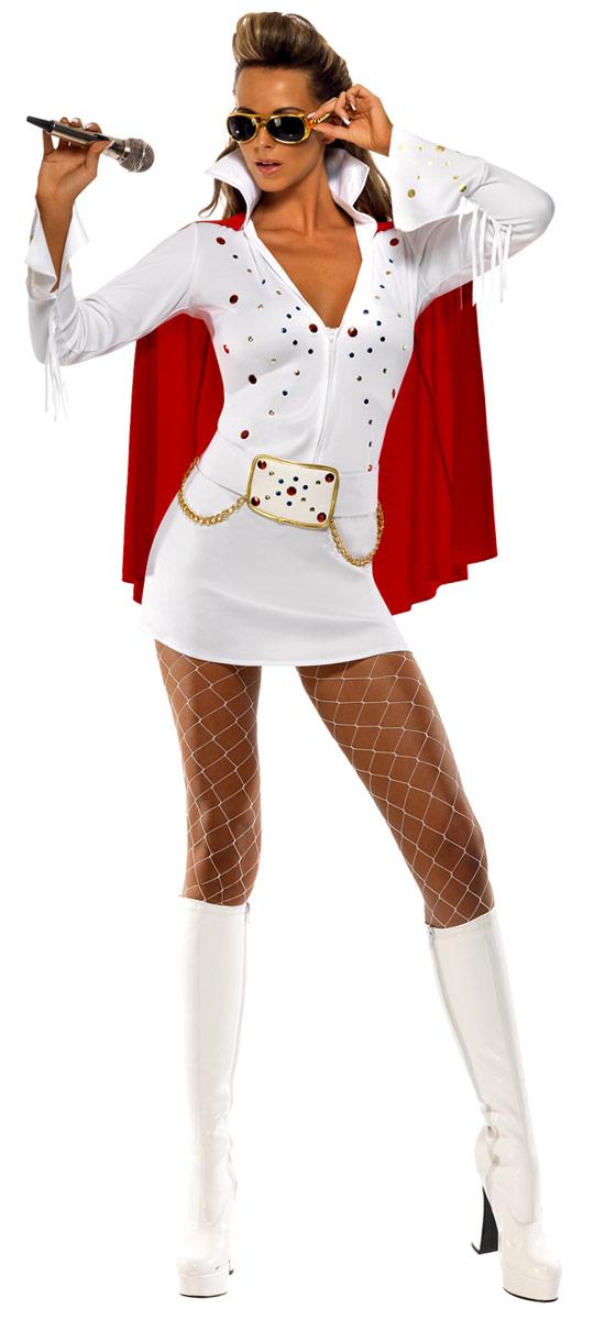 Déguisement Hippie Femme Viva ELVIS Costume de Las Vegas