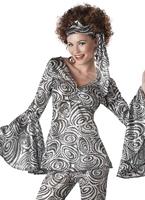 Foxy Lady Costume Déguisement Hippie Femme