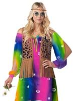 Costume de hippie Chick Déguisement Hippie Femme