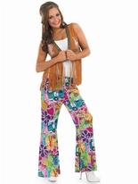 Mesdames Hippie gilet frangé Déguisement Hippie Femme