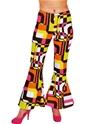 Déguisement Hippie Femme 60 ' s Ladies évasés pantalon Design rétro