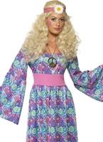 Costume enfant fleur 60 ' s Déguisement Hippie Femme