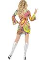 Déguisement Hippie Femme Costume de Flower Power des années 60