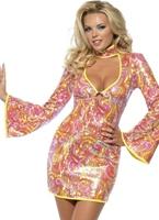 Fièvre vont aller de 60 costumes Déguisement Hippie Femme