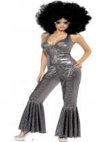 Costume Disco Diva Déguisement Hippie Femme