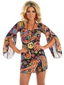 Déguisement Hippie Femme Costume Hippie floral