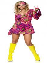 Costume de hippie Déguisement Hippie Femme