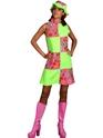 Déguisement Hippie Femme 60 s Hippy lambrissé Floral robe de green