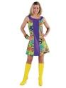 Déguisement Hippie Femme années 60 robe GoGo de paix