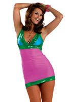 Costume lumineux de Go-Go ' 60 ' s Déguisement Hippie Femme