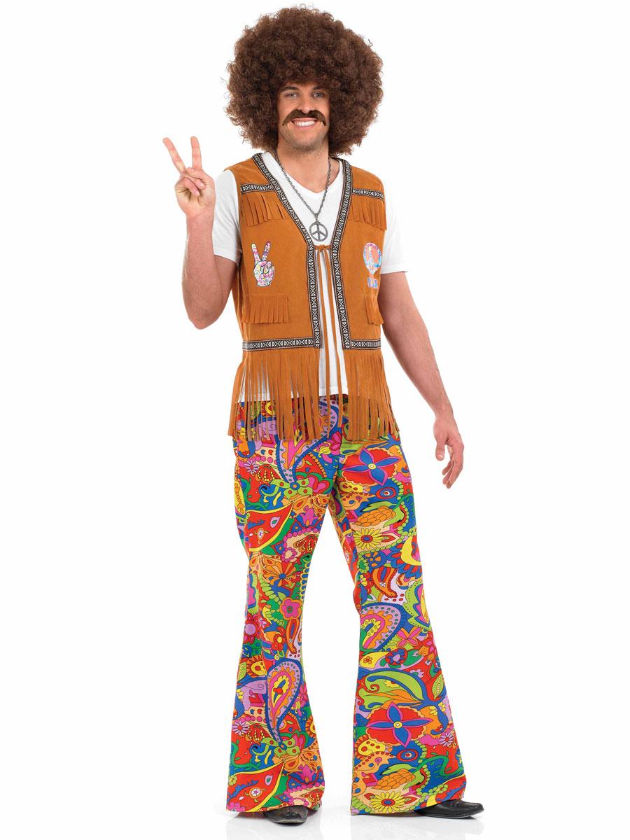mens 60 39 s psych d lique pantalon d guisement hippie homme d guisement hippie 16 02 2019. Black Bedroom Furniture Sets. Home Design Ideas