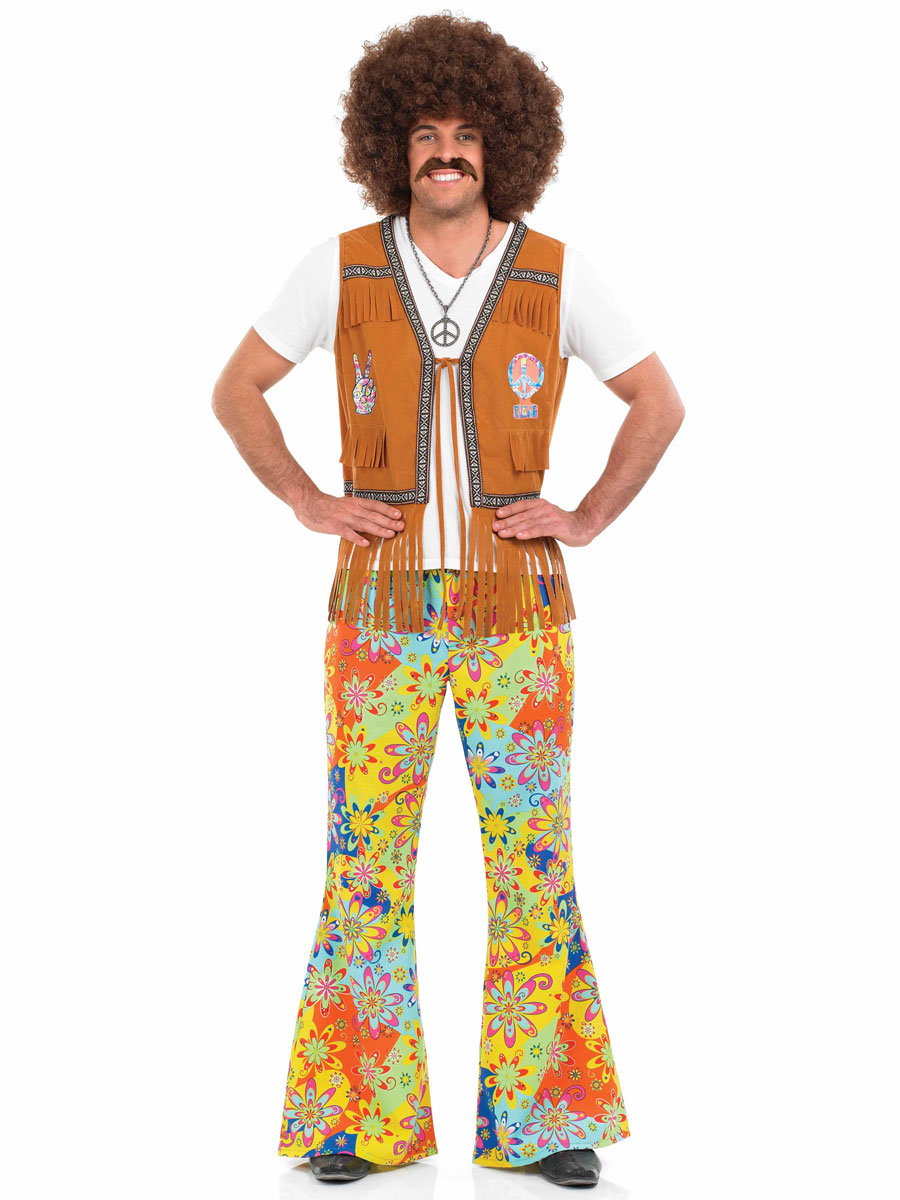 Sixties Fashion For Mens Hippies