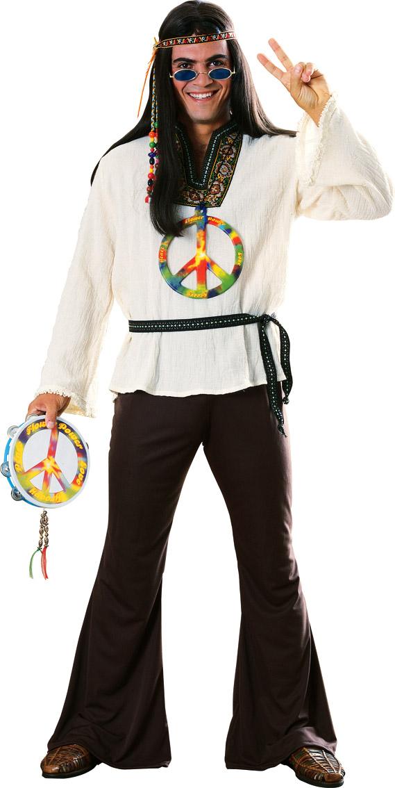 Déguisement Hippie Homme 60 les de groovin Man Costume