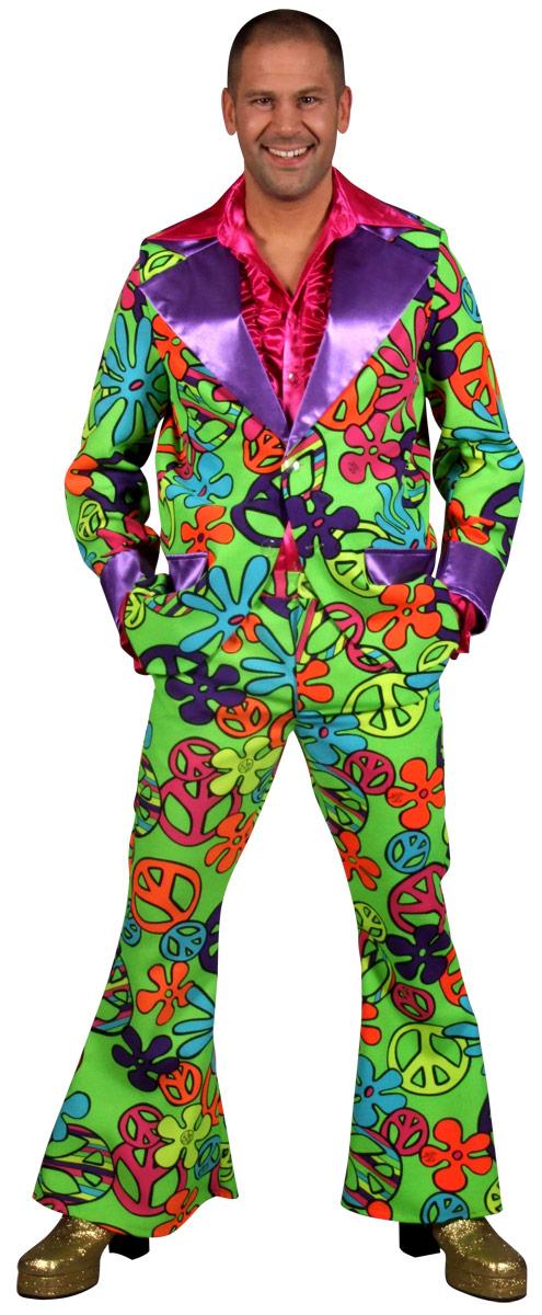 Déguisement Hippie Homme 60 ' s Mens motif Floral costume