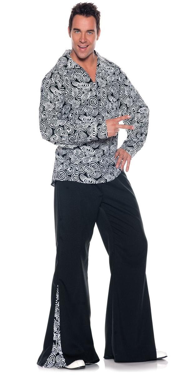 Déguisement Hippie Homme Costume funky 60 ' s