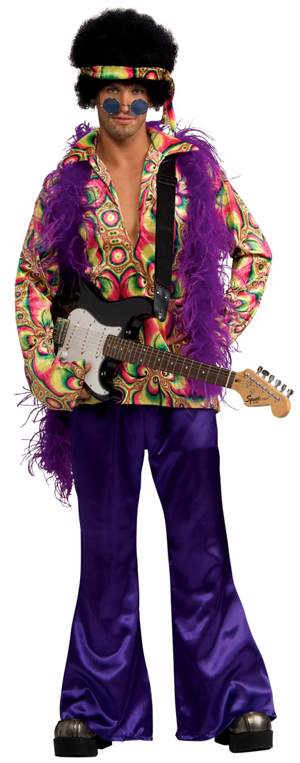 Déguisement Hippie Homme Purple Haze