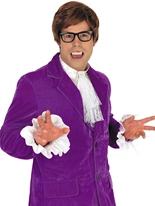 Costume Austin Powers Déguisement Hippie Homme