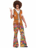 Mens 60 ' s psychédélique pantalon Déguisement Hippie Homme