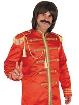 Le sergent rouge Costume de pop Déguisement Hippie Homme