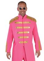 Costume de luxe le sergent poivre rose Déguisement Hippie Homme