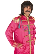Pop sergent rose Costume Déguisement Hippie Homme