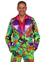 60 ' s Mens motif Floral costume Déguisement Hippie Homme