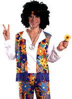 Costume Hippie des années 60 Déguisement Hippie Homme