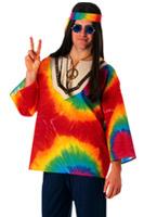 Costume de Sam psychédélique des années 60 Déguisement Hippie Homme