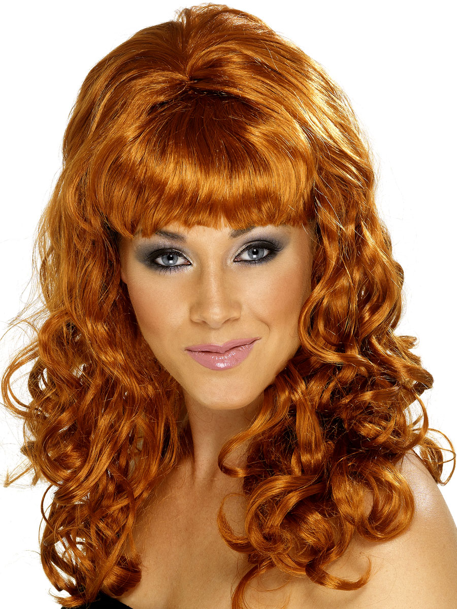 Perruque Hippie Ruche Beauty perruque Auburn