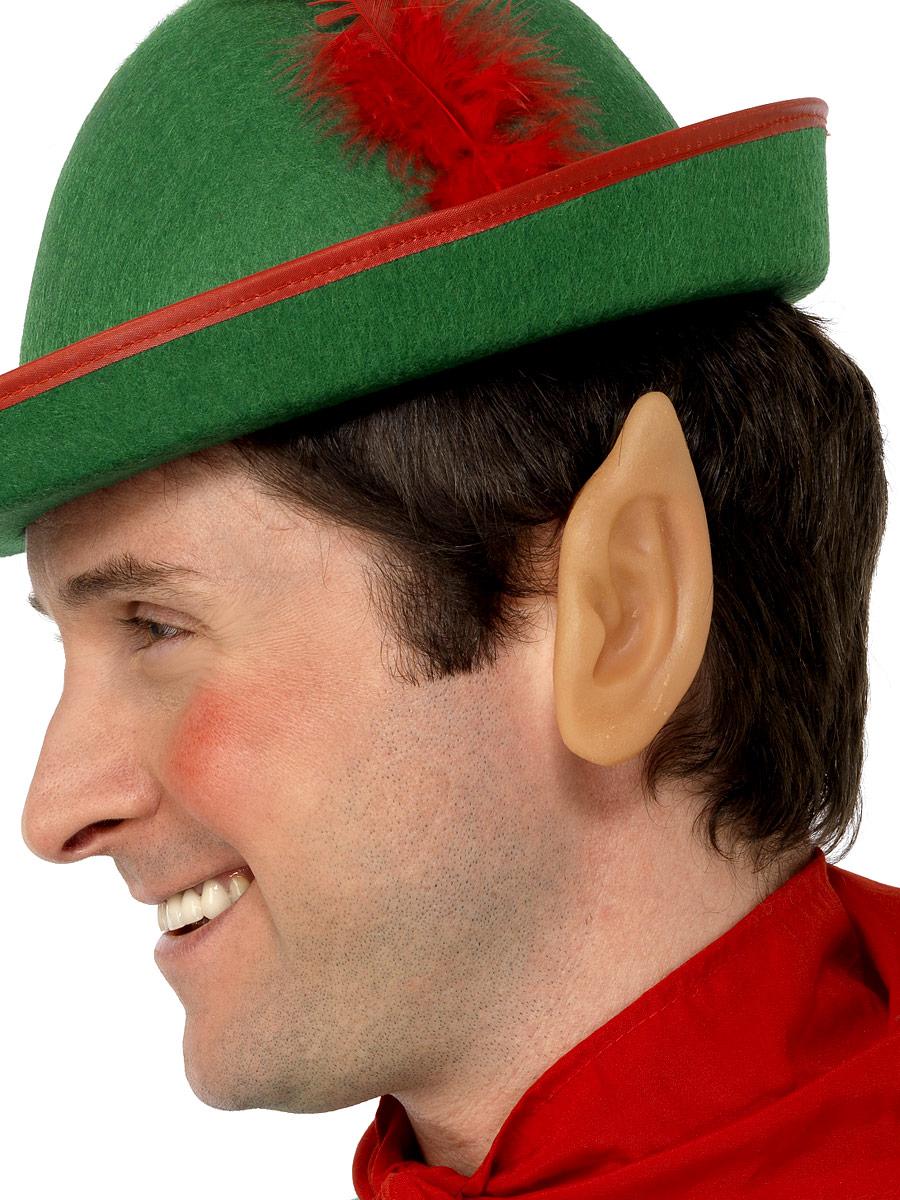Accessoires de Noël Elf pointes oreilles en vinyle souple