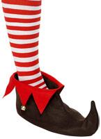 Elf Chaussures Brown & rouge Accessoires de Noël