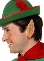 Elf pointes oreilles en vinyle souple Accessoires de Noël