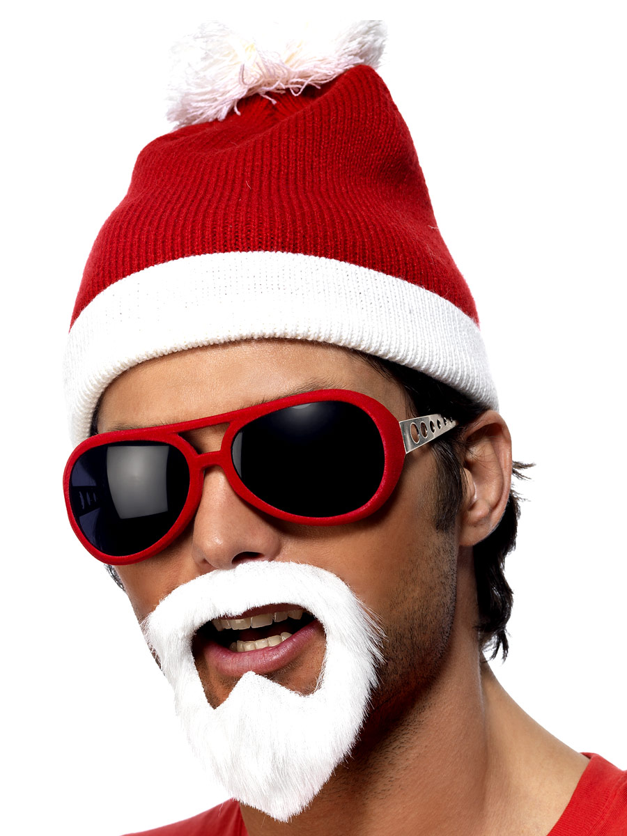 Chapeaux de Noël Bonnet Beanie Santa Gangsta