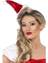 Miss Santa Hat Chapeaux de Noël