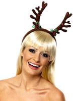 Clignotant bandeau bois Chapeaux de Noël