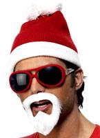 Bonnet Beanie Santa Gangsta Chapeaux de Noël