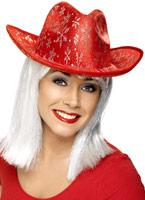 Noël chapeau argent Chapeaux de Noël