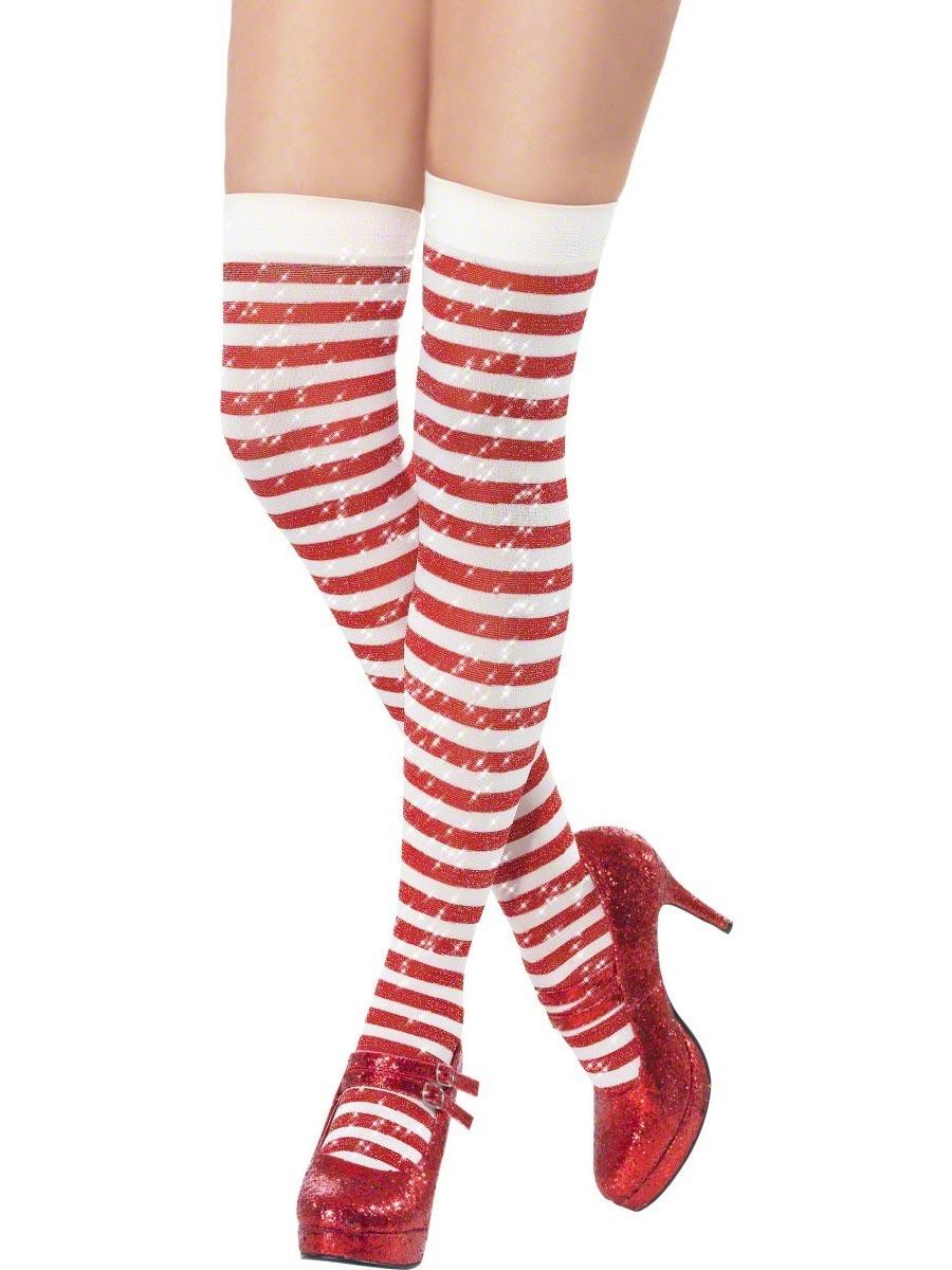 e79f45b0d8a Sparkle cuissardes Chaussettes de Noël Costume Noel - 13 05 2019