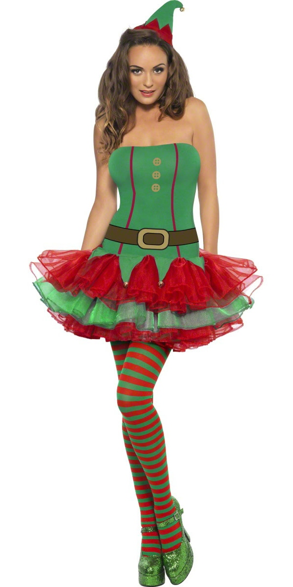Costume Elf Costume de lutin de fièvre