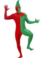 Costume de peau deuxième Elf Costume Elf