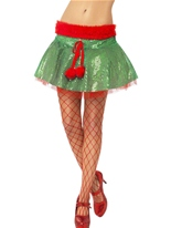 Elf Sequin Tutu Costume Elf
